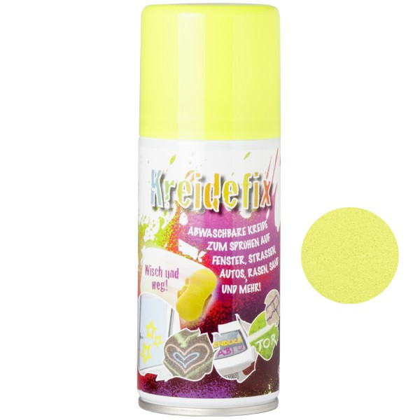 "Sprühfarbe ""Kreidefix"", gelb, 150 ml"