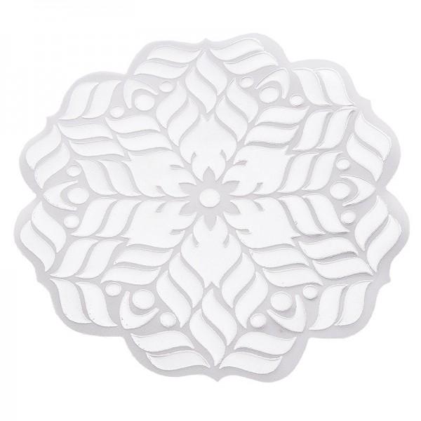 Noblesse Zierdeckchen 1, Transparentpapier, Ø 13cm, weiß, 20 Stück