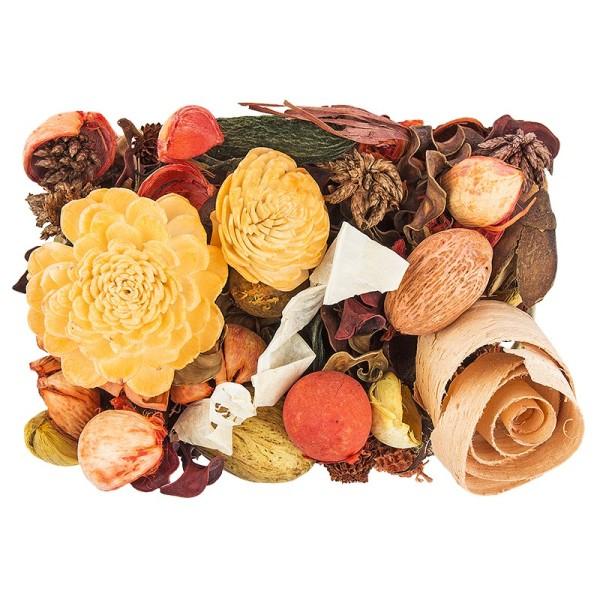 Edel-Potpourri, Orange, 200g, orange, grün, natur