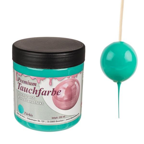 Premium-Tauchfarbe, Türkis, 250ml