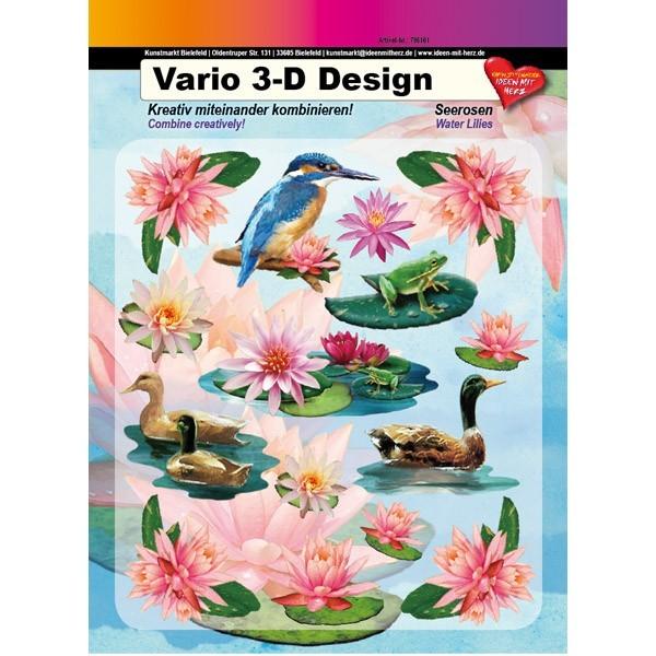 Vario 3-D Design, Seerosen