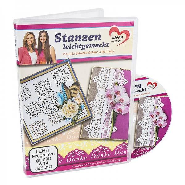 DVD, Stanzen leichtgemacht, Julia Sieweke & Karin Jittenmeier, 70 Min.
