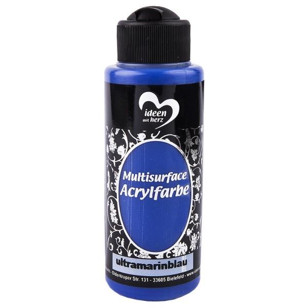 "Acrylfarbe ""Multisurface"", ultramarinblau, 120ml"