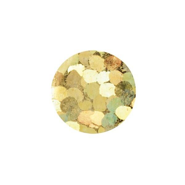 Bügel-Pailletten, 500 Stück, Ø4mm, gold