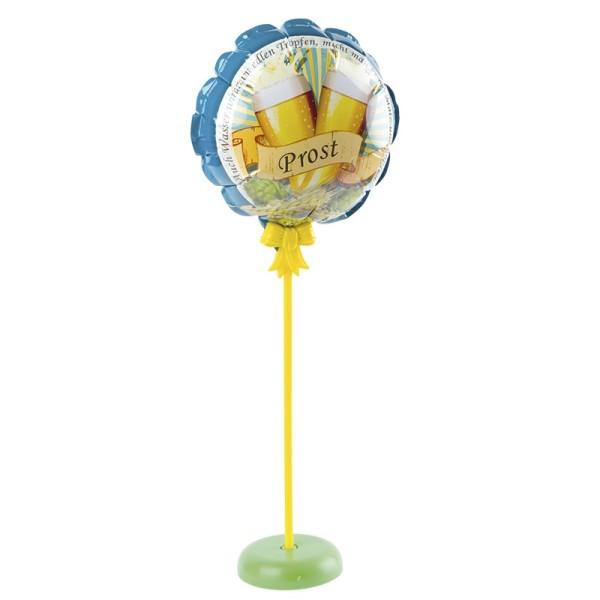 Zauber-Ballon mit Stab & Podest, Ø 11,5 cm, 31,5 cm hoch, Prost