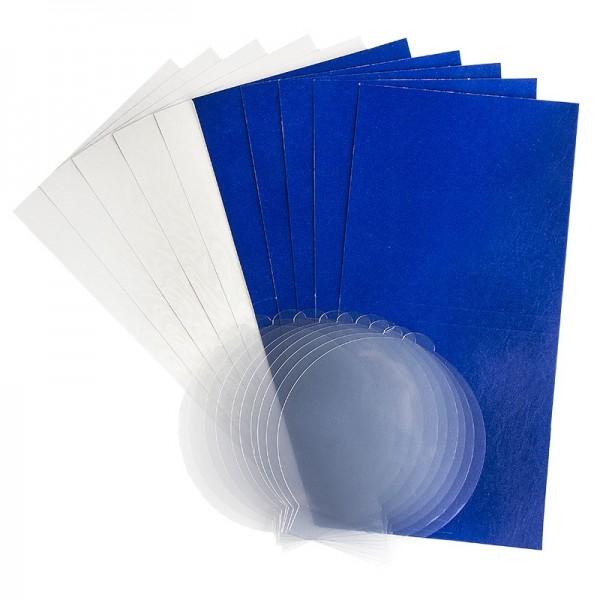 Schneeball-Grußkarten Set, 30tlg