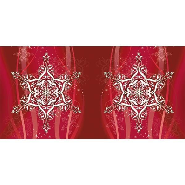 Prickel-Karte, Eiskristall, 16 x 16 cm